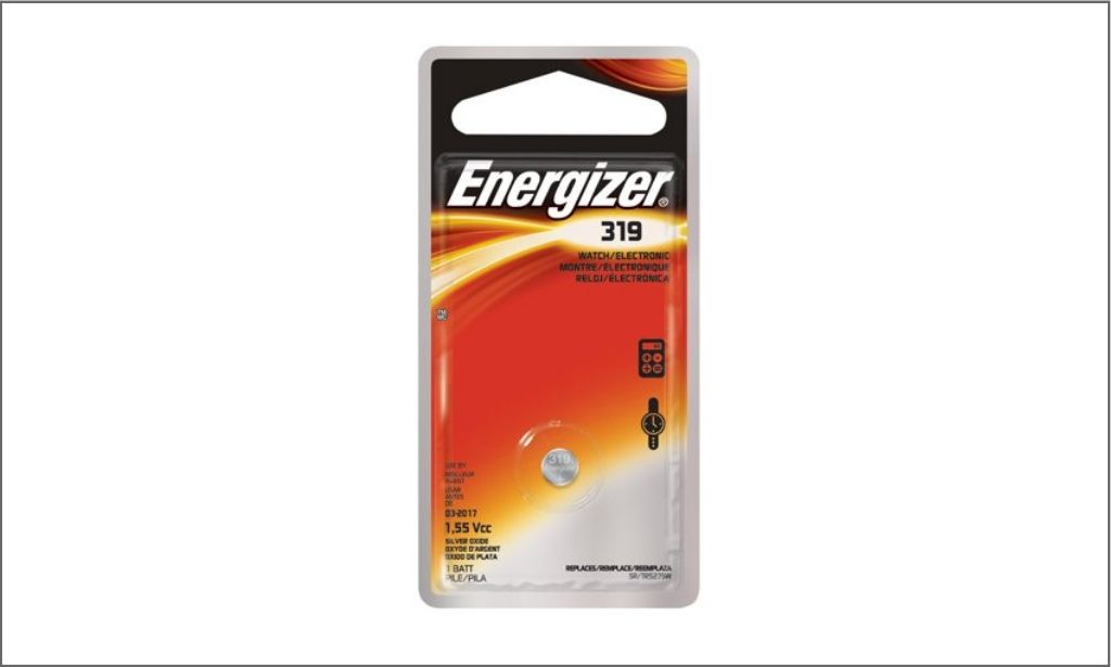 Picture of Energizer Coin Battery 319 bordered