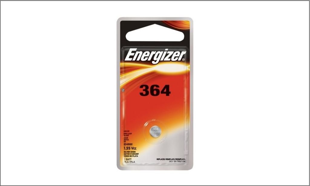 Picture of energizer coin battery 364 borderd