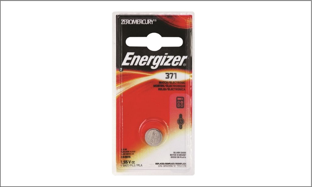 Picture of Energizer coin battery 371