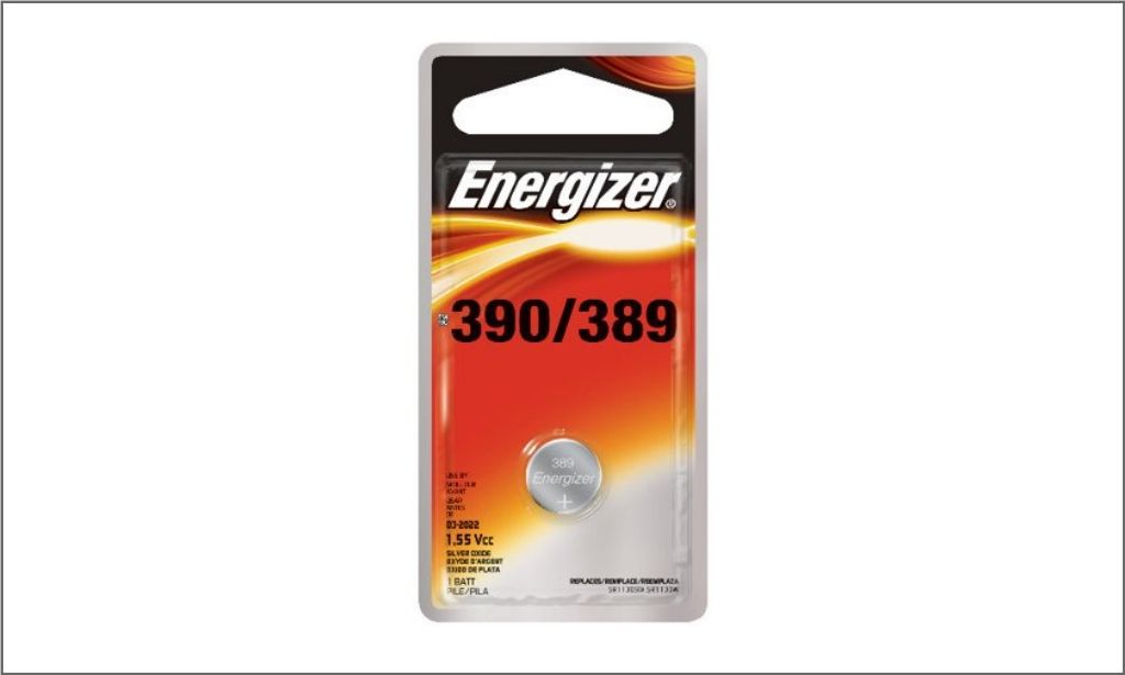 Picture of energizer coin battery 389 bordered