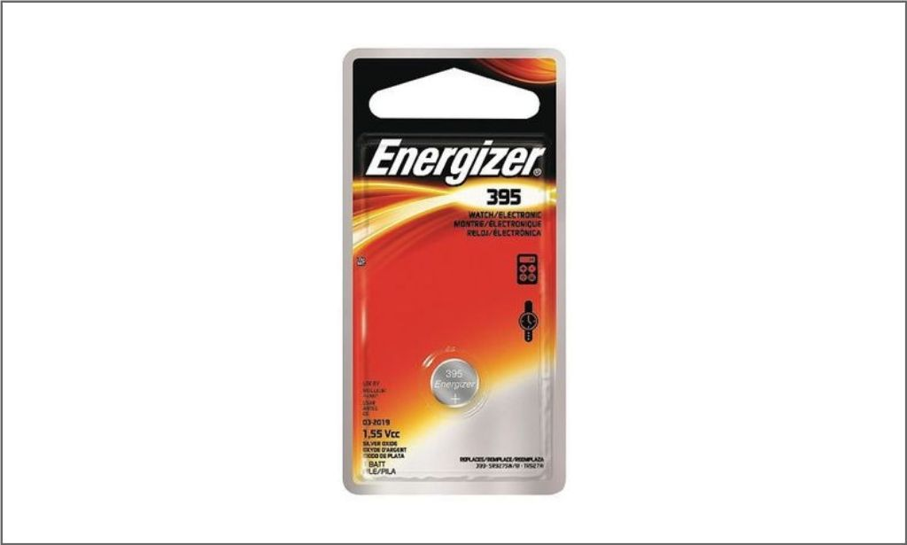 Picture of energizer coin battery 395