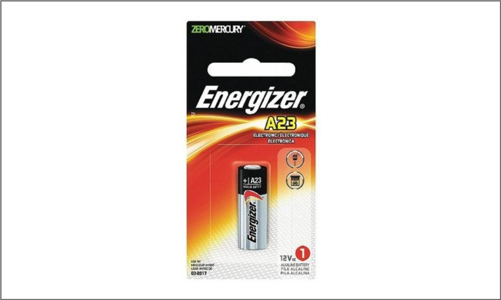 Energizer Coin Battery A23 bordered