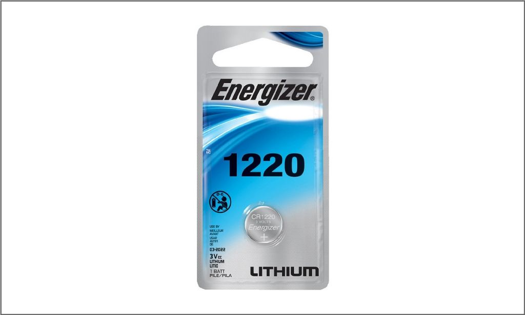 Pictures of Energizer Coin Battery Cr1220
