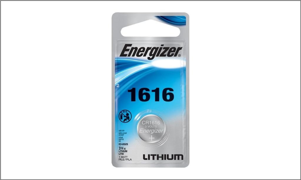 Picture of Energizer Lithium Coin battery CR1616