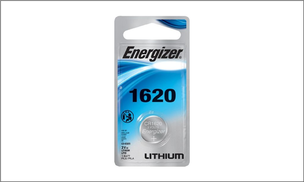 Energizer Coin Lithium Battery 1620