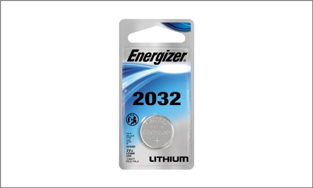 Energizer Coin Lithium Battery CR2032