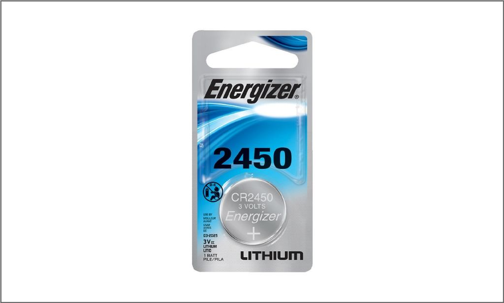 Energizer Coin Lithium Battery CR2450