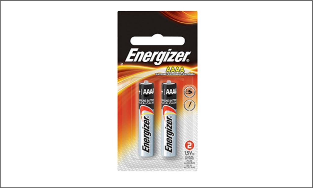 Picture of Energizer E96BP-2- AAAA battery