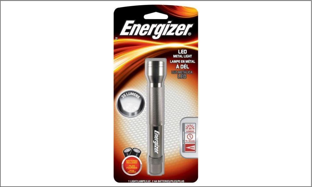 ENR ENML2AA LED Metal LT - Flashlight