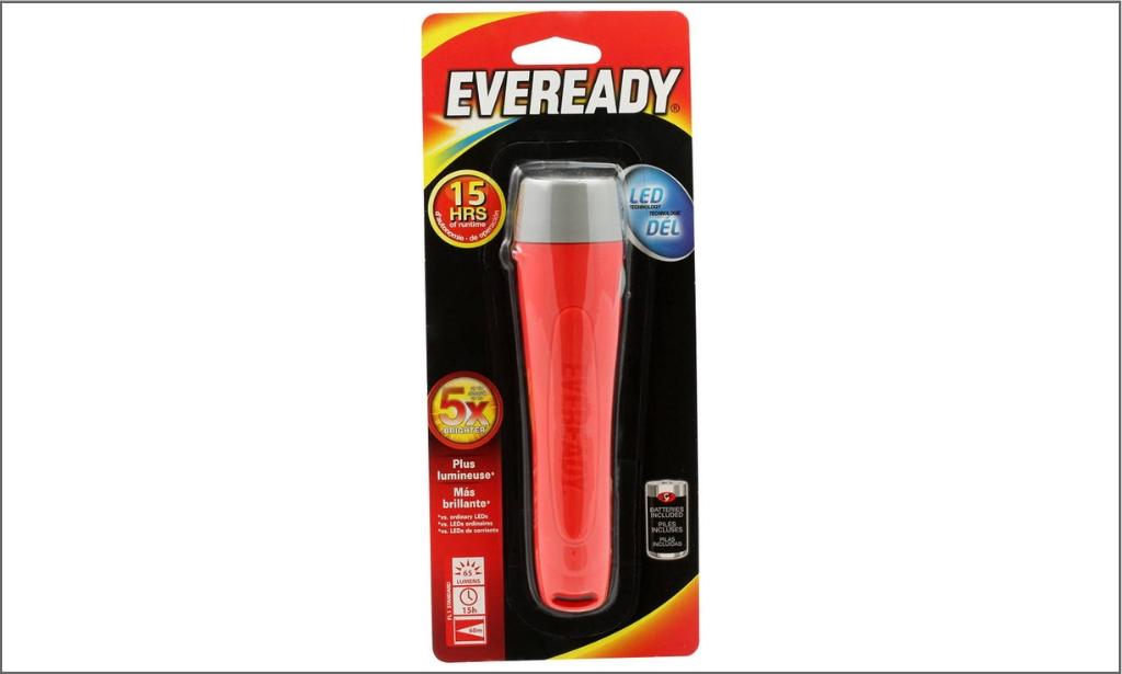Everready flashlight 65 lumens