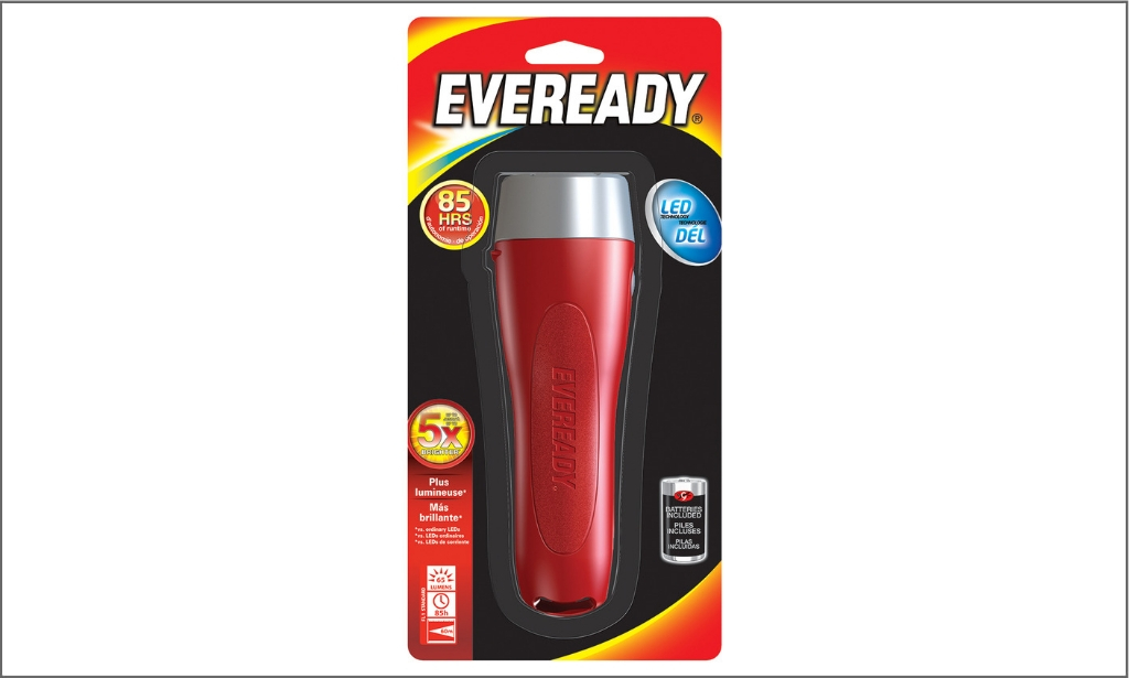 Everready flash light EVGP25S
