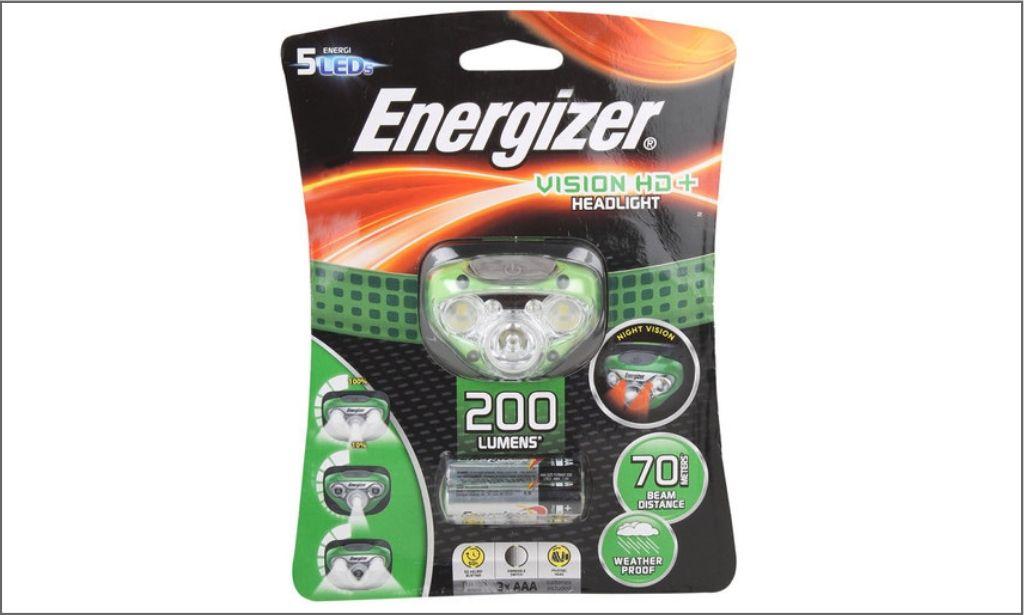Energizer-HDC32E Hands free 200 lumens LED headlight