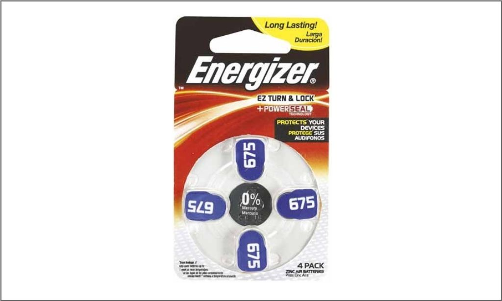 Picture of Energizer Hearing Aid Pack Power Seal AZ675