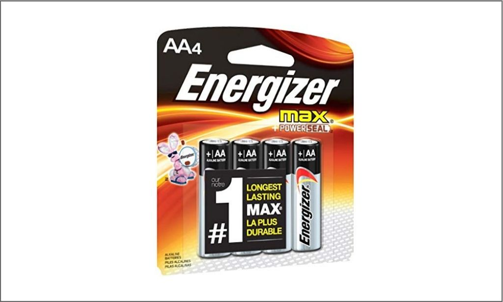 Picture of Energizer Max AA4 bordered