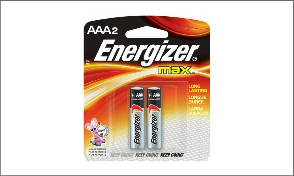 Picture of Energizer Max AAA2 bordered