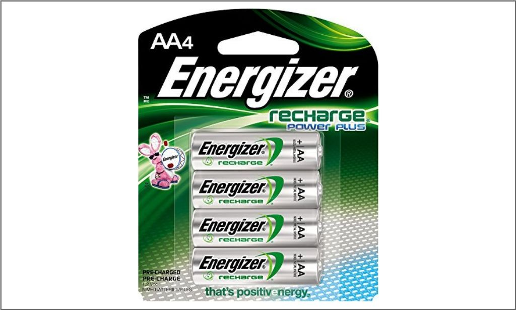 Picture of energizer rechargeable Batteries AA4