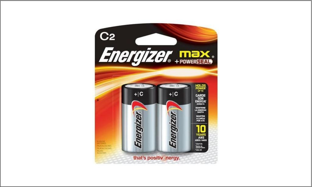 Picture of Energizer Max C2 bordered