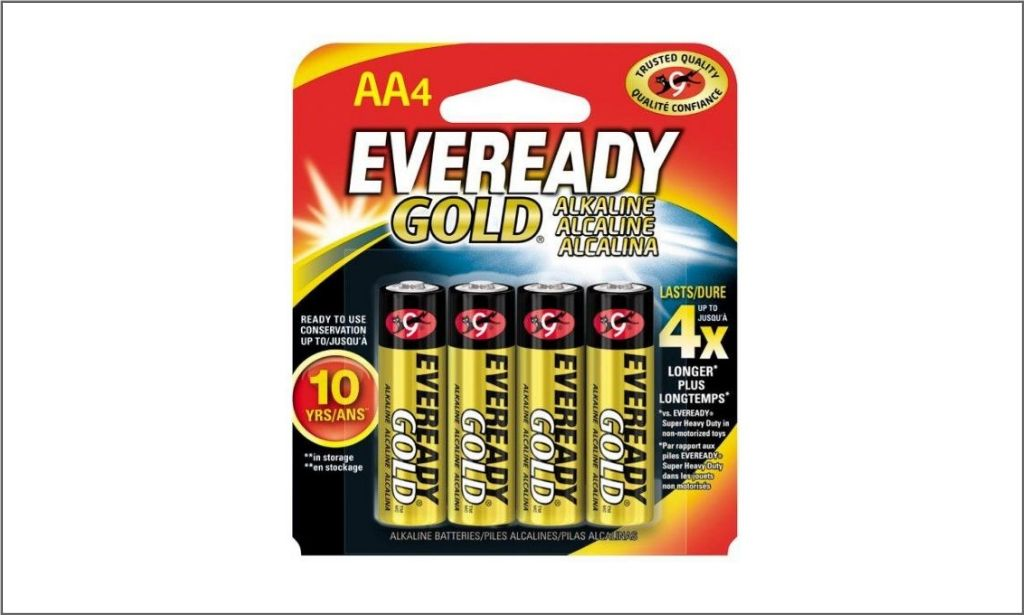 Picture of Eveready Gold AA4 Battery