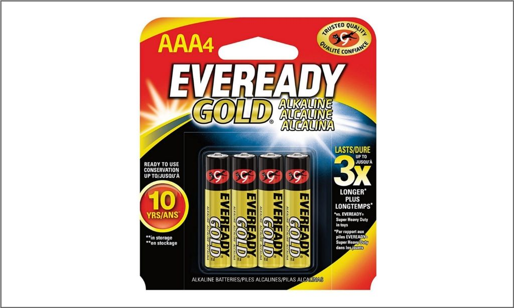 Picture of Eveready Gold AAA4 Battery