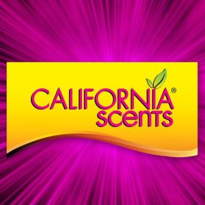 Picture of California Scent logo- yellow background