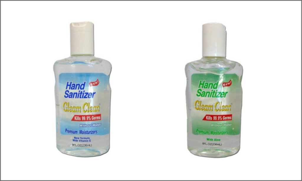 The picture of Gleam Clean 8 Oz Hand Sanitizer