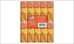 Picture of 40 pack lance chee cheedar biscuits