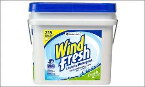 Wind Fresh Laundry Detergent 35 pound bucket